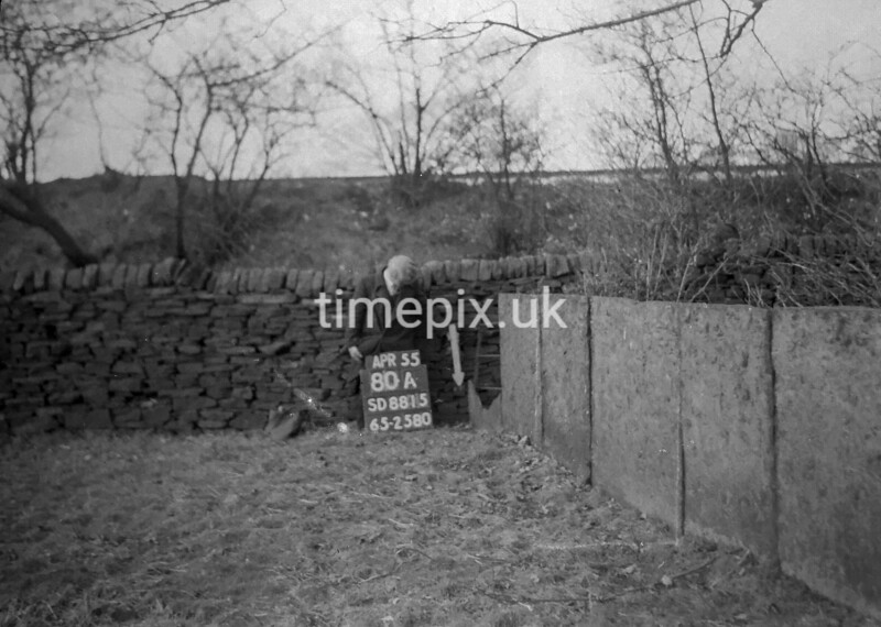 SD881580A, Ordnance Survey Revision Point photograph in Greater Manchester