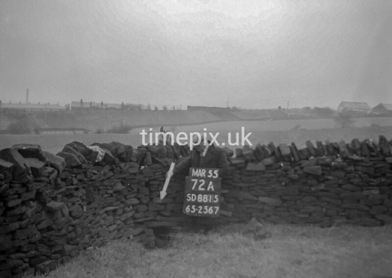 SD881572A, Ordnance Survey Revision Point photograph in Greater Manchester