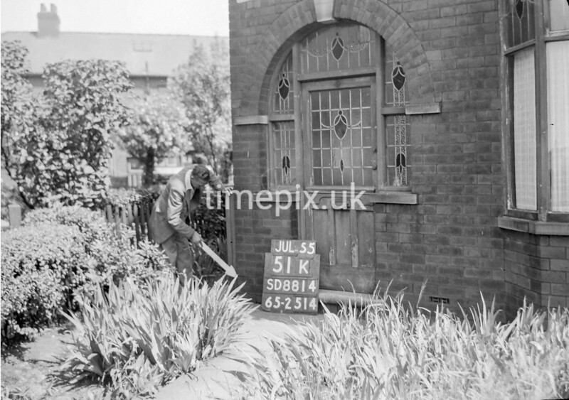 SD881451K, Ordnance Survey Revision Point photograph in Greater Manchester