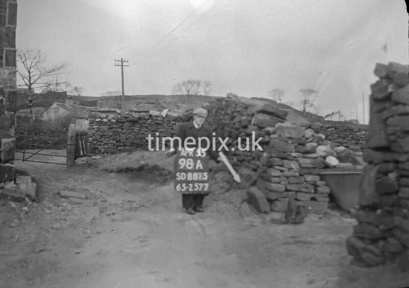 SD881598A, Ordnance Survey Revision Point photograph in Greater Manchester