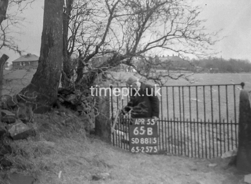 SD881565B, Ordnance Survey Revision Point photograph in Greater Manchester