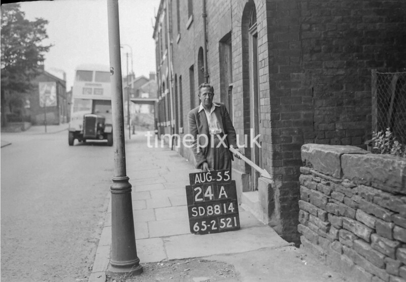 SD881424A, Ordnance Survey Revision Point photograph in Greater Manchester