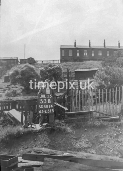 SD881453B, Ordnance Survey Revision Point photograph in Greater Manchester