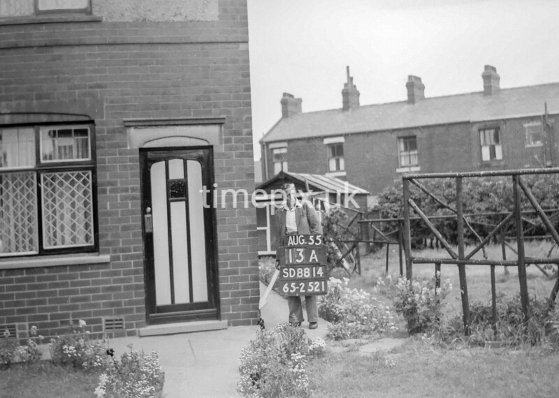 SD881413A, Ordnance Survey Revision Point photograph in Greater Manchester