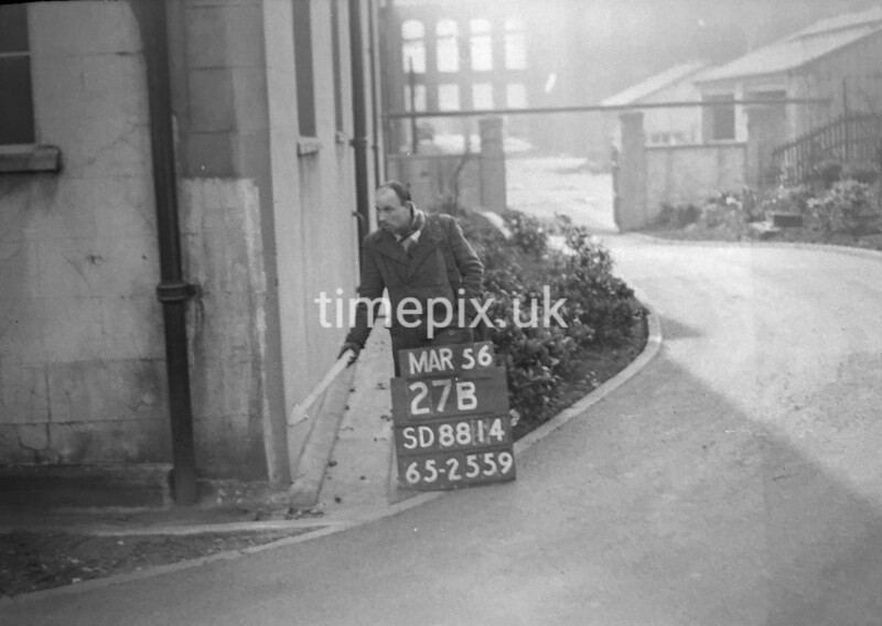 SD881427B, Ordnance Survey Revision Point photograph in Greater Manchester