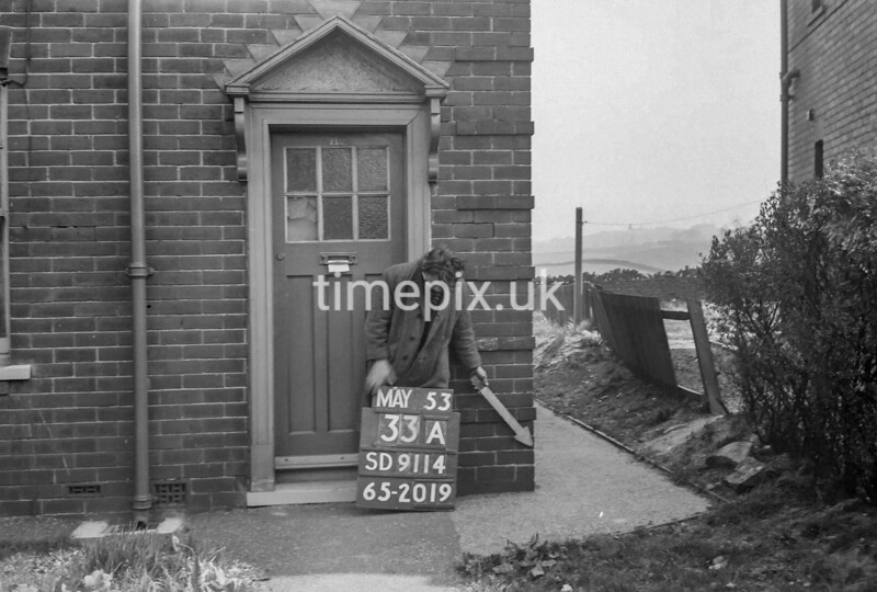 SD911433A, Ordnance Survey Revision Point photograph in Greater Manchester