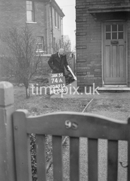 SD891574A, Ordnance Survey Revision Point photograph in Greater Manchester
