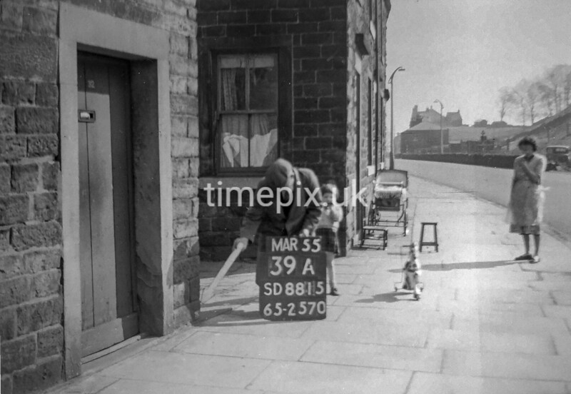 SD881539A, Ordnance Survey Revision Point photograph in Greater Manchester