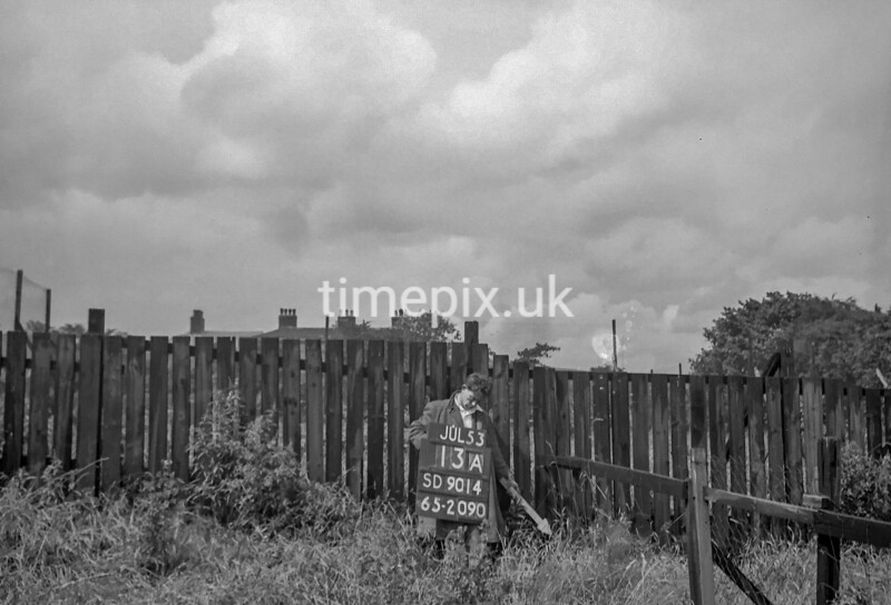 SD901413A, Ordnance Survey Revision Point photograph in Greater Manchester