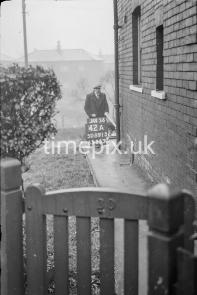 SD891542A, Ordnance Survey Revision Point photograph in Greater Manchester