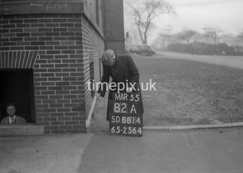 SD881482A, Ordnance Survey Revision Point photograph in Greater Manchester