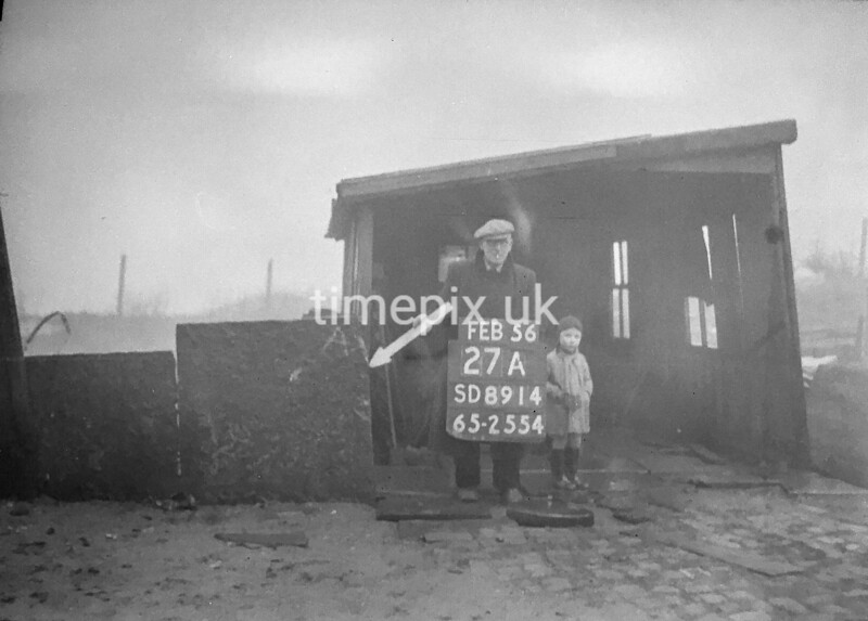 SD891427A, Ordnance Survey Revision Point photograph in Greater Manchester