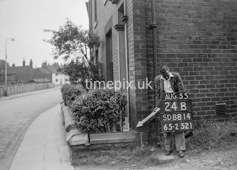 SD881424B, Ordnance Survey Revision Point photograph in Greater Manchester