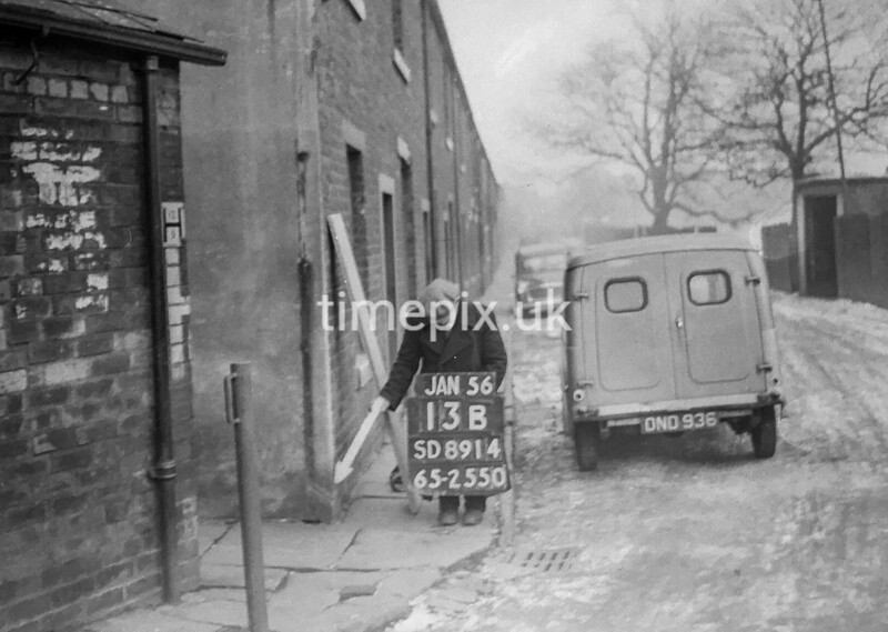 SD891413B, Ordnance Survey Revision Point photograph in Greater Manchester