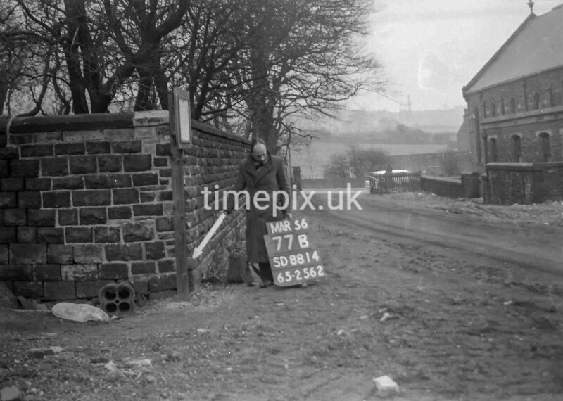 SD881477B, Ordnance Survey Revision Point photograph in Greater Manchester