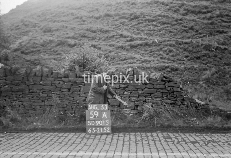 SD901559A, Ordnance Survey Revision Point photograph in Greater Manchester
