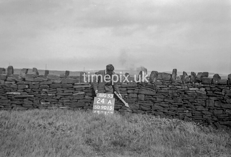 SD901524A, Ordnance Survey Revision Point photograph in Greater Manchester