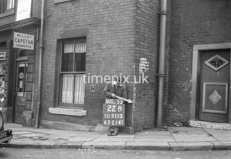 SD911522B, Ordnance Survey Revision Point photograph in Greater Manchester