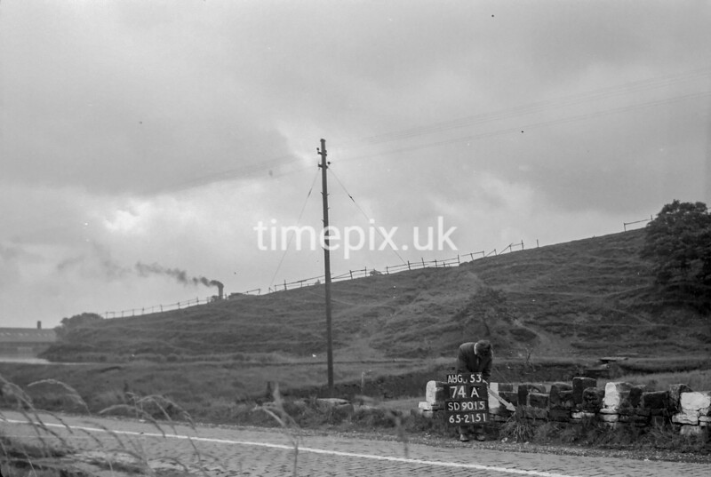 SD901574A, Ordnance Survey Revision Point photograph in Greater Manchester
