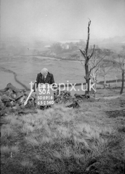 SD891650A, Ordnance Survey Revision Point photograph in Greater Manchester