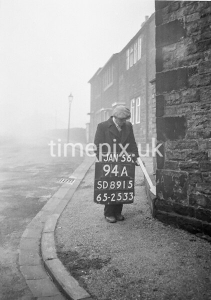 SD891594A, Ordnance Survey Revision Point photograph in Greater Manchester