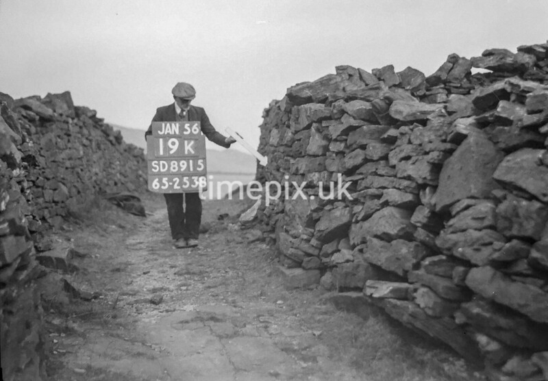 SD891519K, Ordnance Survey Revision Point photograph in Greater Manchester