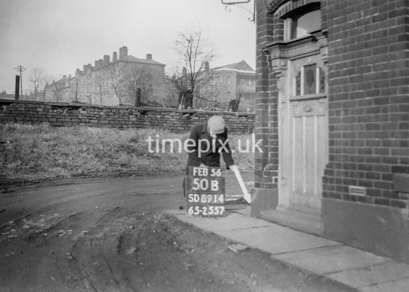 SD891450B, Ordnance Survey Revision Point photograph in Greater Manchester