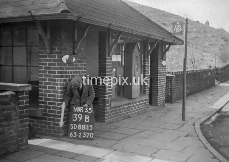 SD881539B, Ordnance Survey Revision Point photograph in Greater Manchester