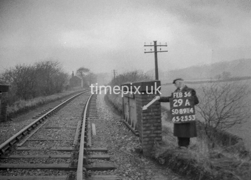 SD891429A, Ordnance Survey Revision Point photograph in Greater Manchester