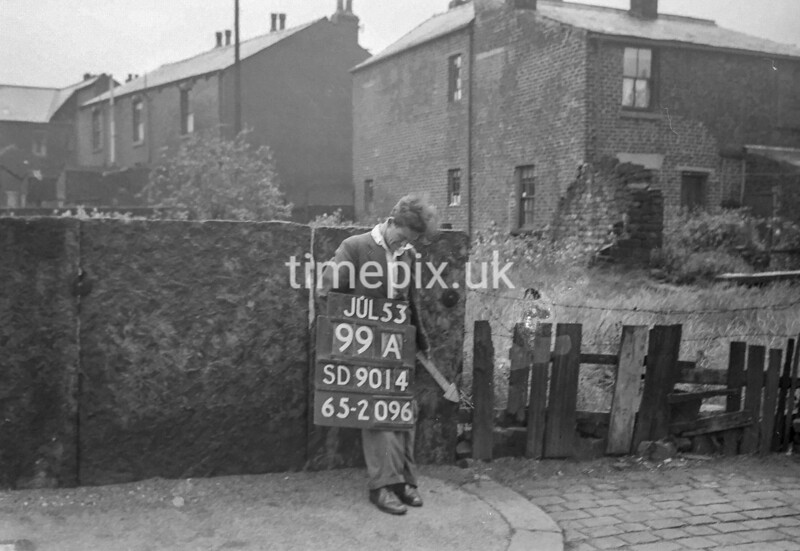 SD901499A, Ordnance Survey Revision Point photograph in Greater Manchester