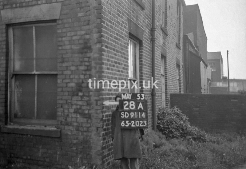 SD911428A, Ordnance Survey Revision Point photograph in Greater Manchester