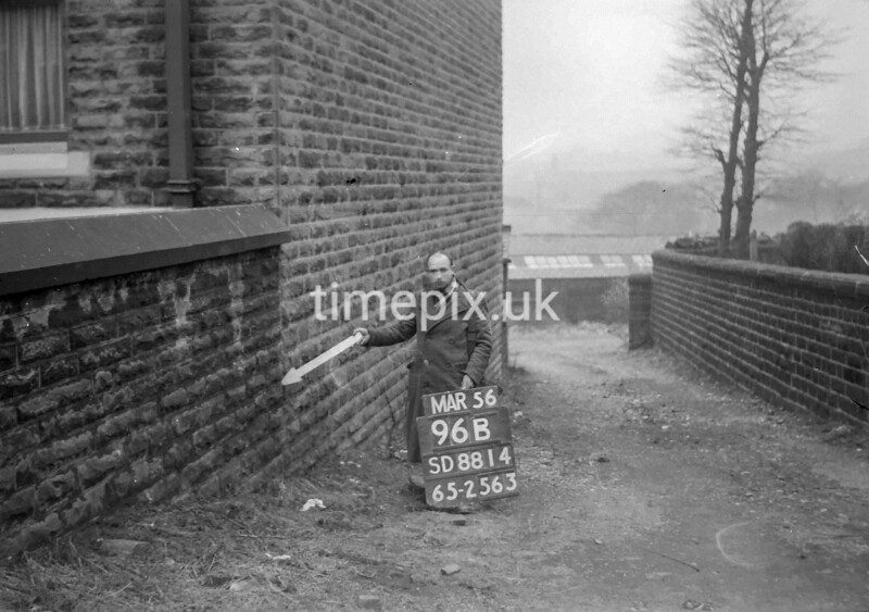 SD881496B, Ordnance Survey Revision Point photograph in Greater Manchester