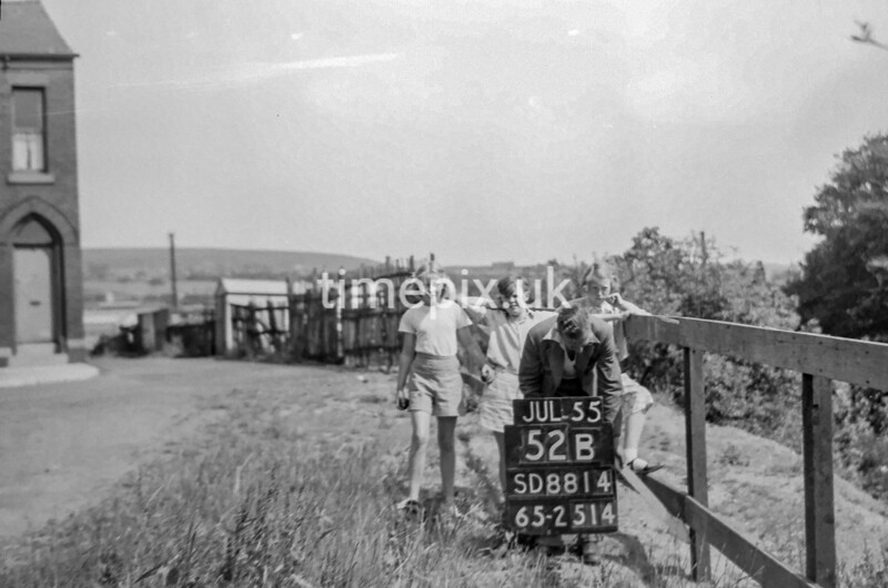 SD881452B, Ordnance Survey Revision Point photograph in Greater Manchester