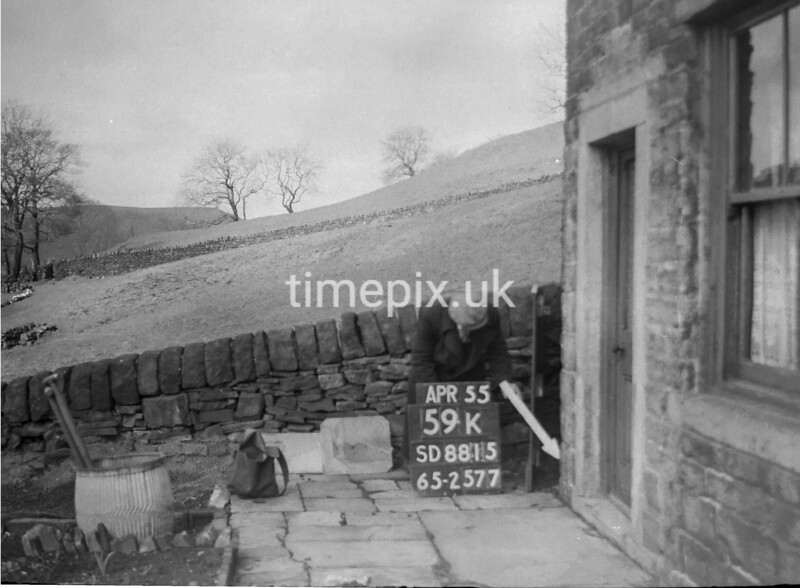 SD881559K, Ordnance Survey Revision Point photograph in Greater Manchester