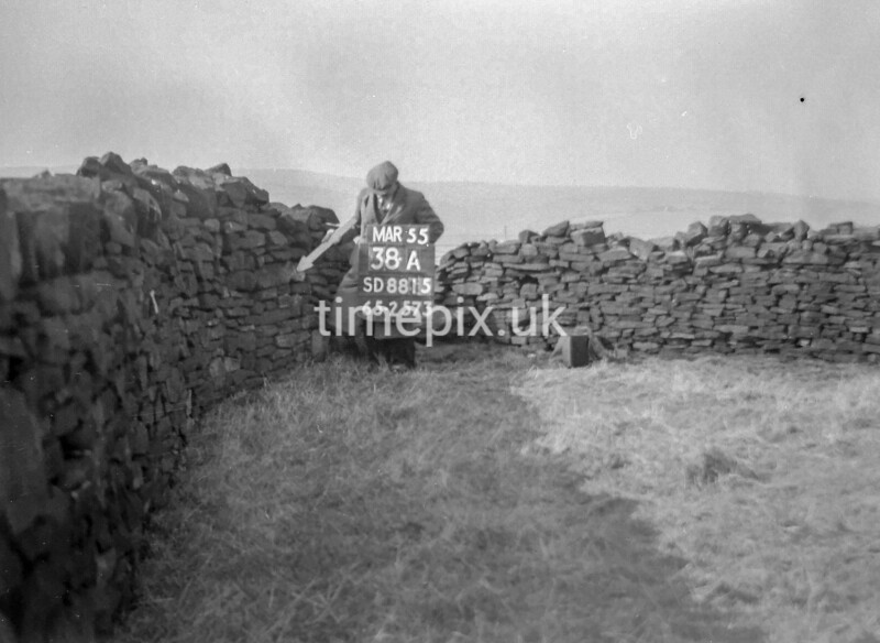 SD881538A, Ordnance Survey Revision Point photograph in Greater Manchester