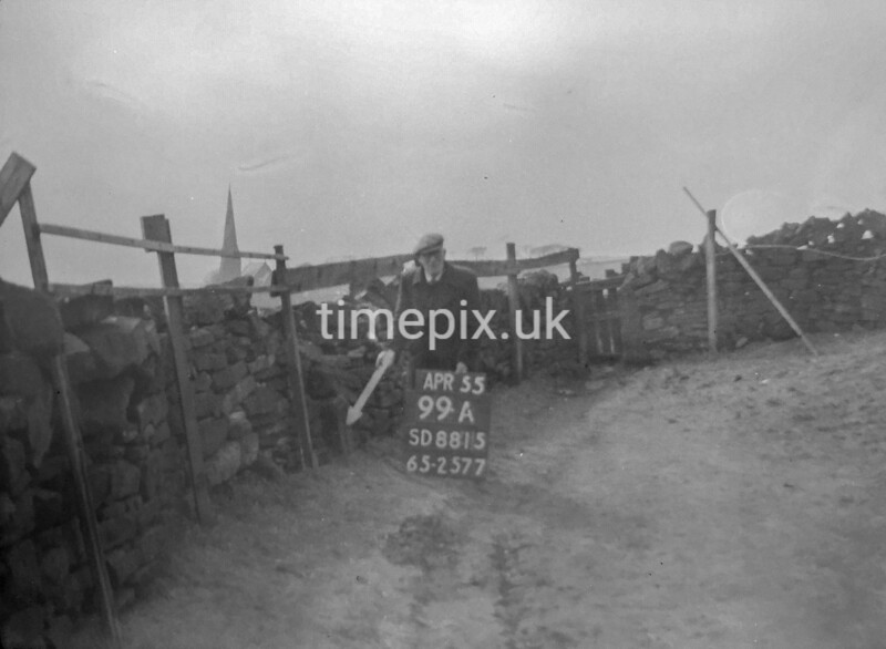 SD881599A, Ordnance Survey Revision Point photograph in Greater Manchester