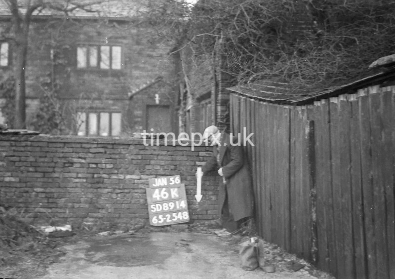 SD891446K, Ordnance Survey Revision Point photograph in Greater Manchester