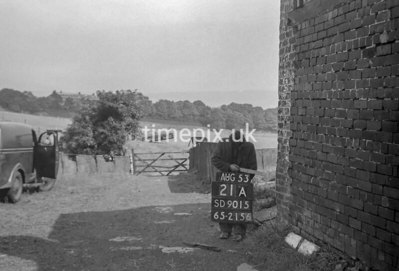 SD901521A, Ordnance Survey Revision Point photograph in Greater Manchester