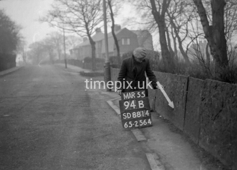 SD881494B, Ordnance Survey Revision Point photograph in Greater Manchester