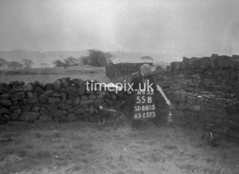 SD881555B, Ordnance Survey Revision Point photograph in Greater Manchester