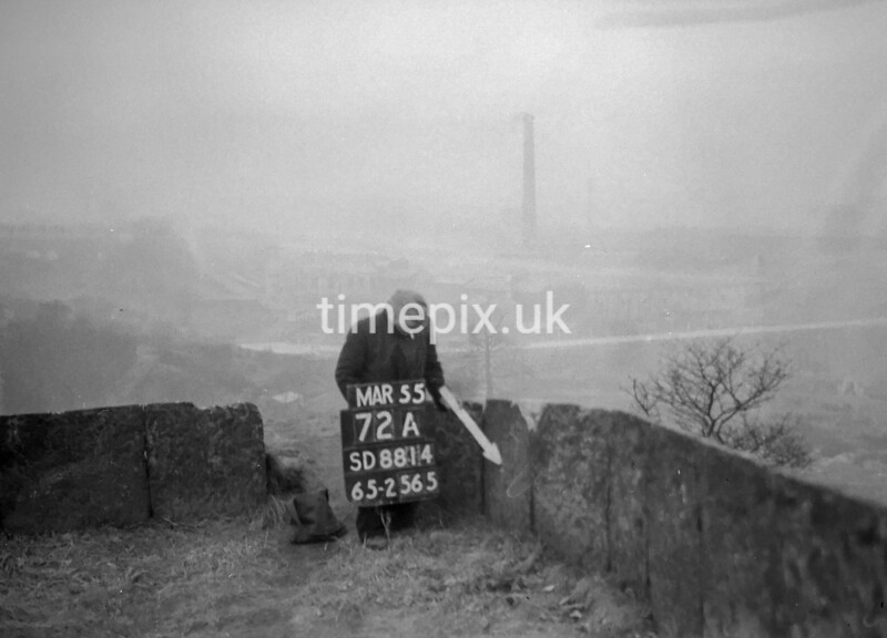 SD881472A, Ordnance Survey Revision Point photograph in Greater Manchester