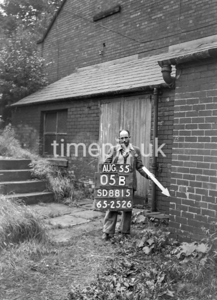 SD881505B, Ordnance Survey Revision Point photograph in Greater Manchester
