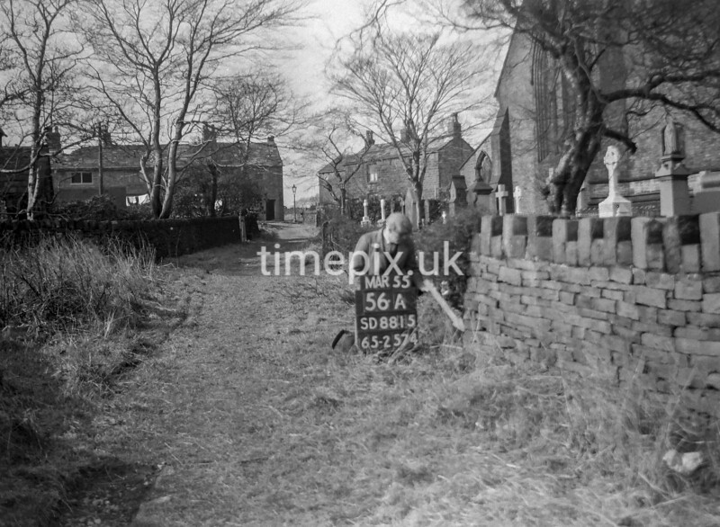SD881556A, Ordnance Survey Revision Point photograph in Greater Manchester