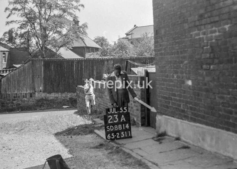 SD881423A, Ordnance Survey Revision Point photograph in Greater Manchester