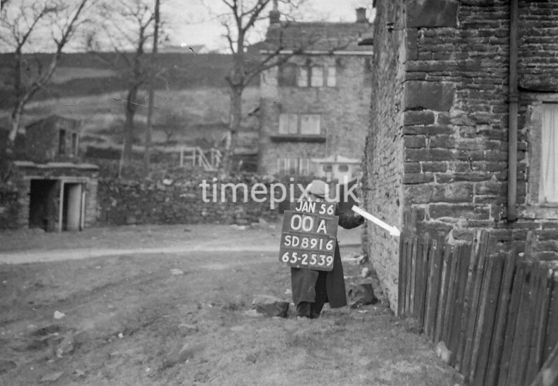 SD891600A, Ordnance Survey Revision Point photograph in Greater Manchester