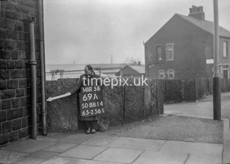 SD881469A, Ordnance Survey Revision Point photograph in Greater Manchester