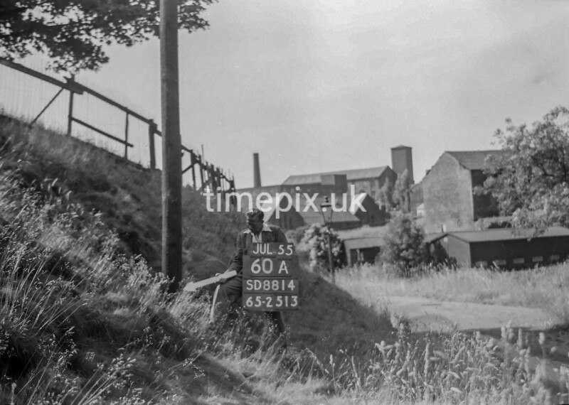 SD881460A2, Ordnance Survey Revision Point photograph in Greater Manchester