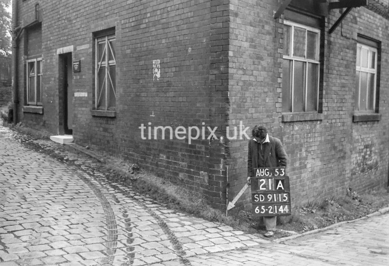 SD911521A, Ordnance Survey Revision Point photograph in Greater Manchester