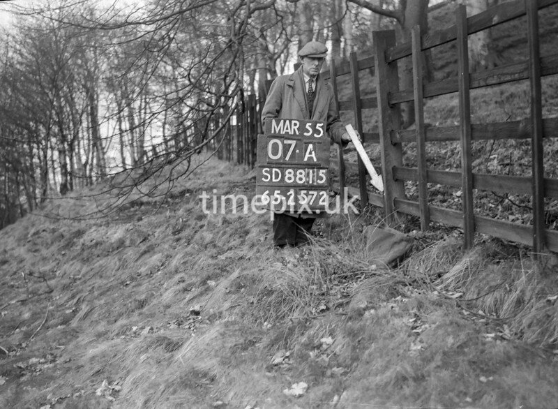SD881507A, Ordnance Survey Revision Point photograph in Greater Manchester