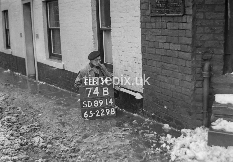 SD891474B, Ordnance Survey Revision Point photograph in Greater Manchester